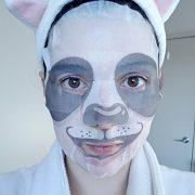 Animal Panda Whitening Mask Selfie