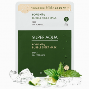 MISSHA SUPER AQUA PORE-KLING BUBBLE SHEET MASK 2