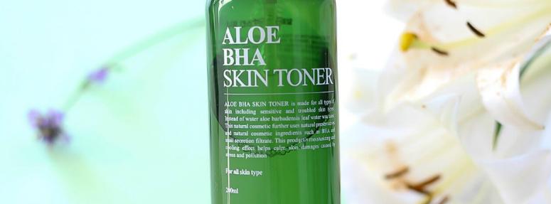 Review- Aloe BHA Toner